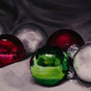 Christmas Ornaments 2 11x14 Poster