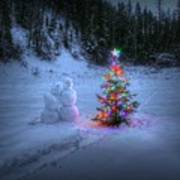 Christmas Spirit At Grouse Creek Poster