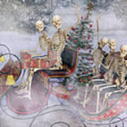 Christmas Spirits Heading To Topsail Island Nc Poster
