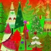 Christmas Trees Poster