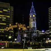 Christmas Village - Philadelphia Poster