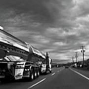 Chrome Tanker Poster