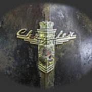 Chrysler Hood Ornament Poster
