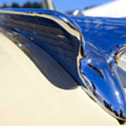 Chrysler New Yorker Deluxe Hood Ornament Poster