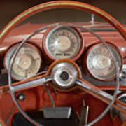 Chrysler Turbine Cockpit View Poster