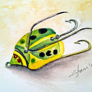 Chub Weed Lure Poster