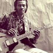 Chuck Berry, Music Legend Poster