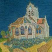 Church At Auvers Poster