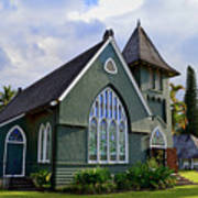 Church In Hanalei Kauai  Poster