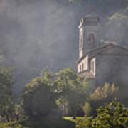 Church In Partigliano Poster by Steven Gray