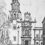 Church In Queretaro, Mx Poster