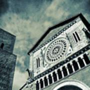 Church Of San Pietro - Tuscania Poster