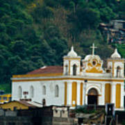 Church Of The Transfiguration Quetzaltenango Guatemala Poster