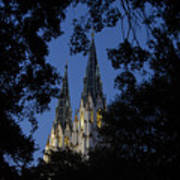 Church Steeples Poster