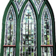 Church Window Poster