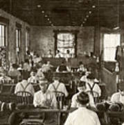 Cigar Factory, 1909 Poster