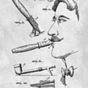 Cigar Holder  Poster