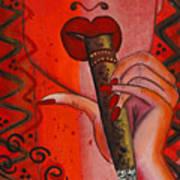 Cigar Moment Corona Cigar Poster