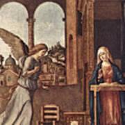Cima Da Conegliano The Annunciation Poster