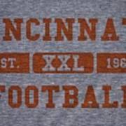 Cincinnati Bengals Retro Shirt Poster