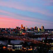 Cincinnati Skyline Poster