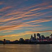 Cincinnati Sunset Poster