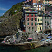 Cinque Terre Northern Italy Poster