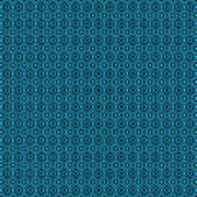 Circle And Oval Ikat In Black N18-p0100 Poster