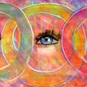 Circle Of Eyes Poster