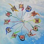 Circle Of Hearts Poster