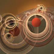 Circles And Rings Poster