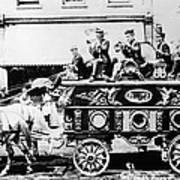 Circus Bandwagon, 1900 Poster