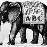 Circus: Jumbo, C1882 Poster
