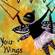 Circus Kitty - Your Wings Will Carry You Poster