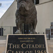 Citadel Bulldog Poster