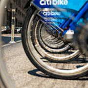 Citibike Manhattan Poster