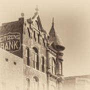Citizens Bank Sepia Poster