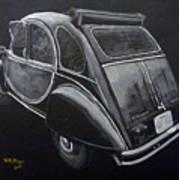 Citroen 2cv Charleston Poster