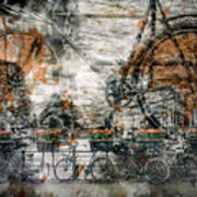 City-art Amsterdam Bicycles  Poster