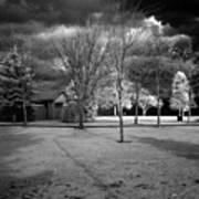 City Beach In Infrared Poster