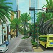 City Beautiful - Downtown Orlando Fl Poster