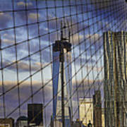 City Between The Bridge Poster