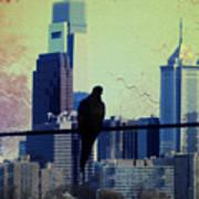 City Bird Poster