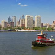 City - Camden Nj - The City Of Philadelphia Poster