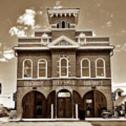 City Hall And Fire Department S Poster