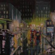 City Night Poster