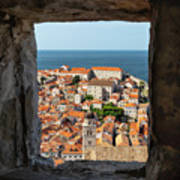 City Of Dubrovnik, The Pearl Of The Mediterranean Sea Poster