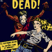 City Of The Living Dead Comic Book Poster Poster
