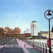 City Quay Campshires Poster