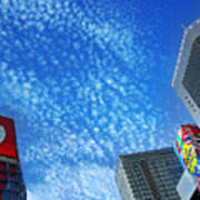 City Sky Poster